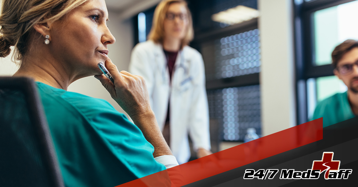1146730_247 MedStaff_5 Tips ></p> <p>Working the night shift in a healthcare setting definitely isn't for everyone. It's a tough job, but a rewarding one. If you've recently found yourself transitioning to night shift work, here are some tips to help you get through it:</p> <h3>1.) Get enough sleep.</h3> <p>Night shift work is sure to disrupt most healthcare workers' sleep schedules. That's why making sure you get enough sleep outside of work is essential. Without it, you'll be groggy when you're on the job, and that's not good for anyone. You'll need to train your body and mind to establish a new sleep routine – stick with it until it becomes ...</p></p></p>         </li>             <li>             <h3><a href=